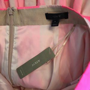 J. Crew Skirts - NWT J. Crew Taffeta Skirt Neon Pink Buffalo Check